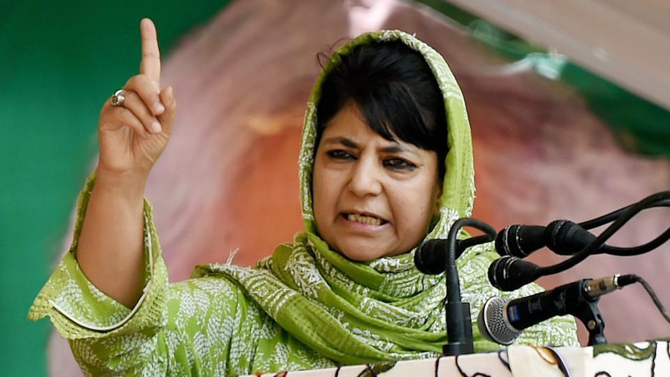 Jammu and Kashmir: Mehbooba Mufti for better relations with Imran Khan