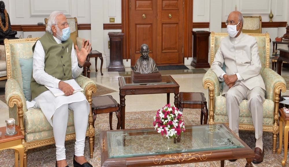 PM meets President to discuss various issues