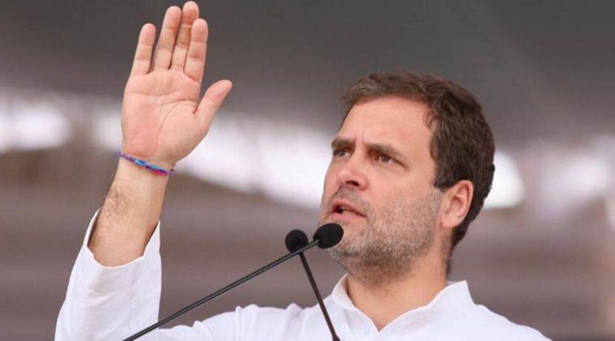Rahul slams Centre over foreign aid amid Covid-19 pandemic