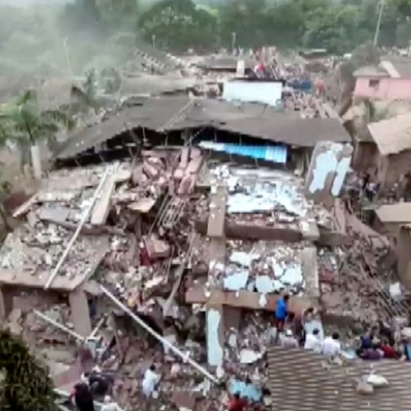 Mumbai building collapse: Man survives, but loses 9 family members