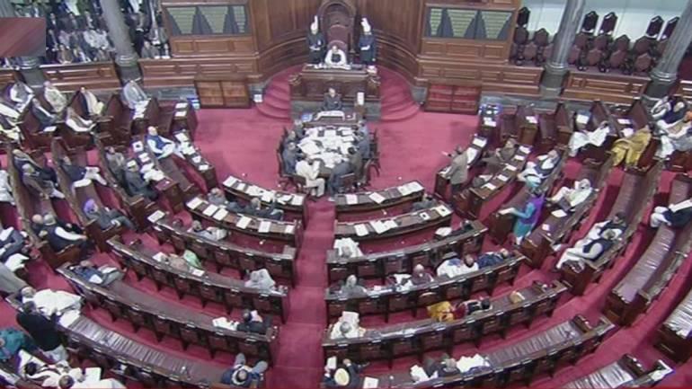 Rajya Sabha adjourned again over Karnataka crisis