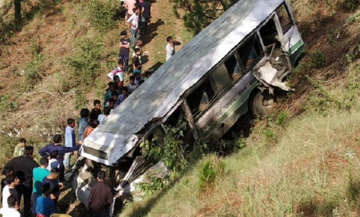 7 school kids injured in Shimla accident