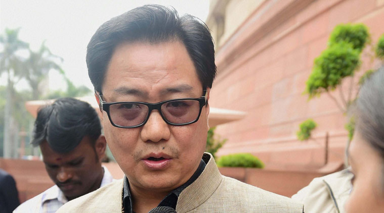 Funds released to flood affected states , Rs 500 cr given to SDRF : Kiren Rijiju