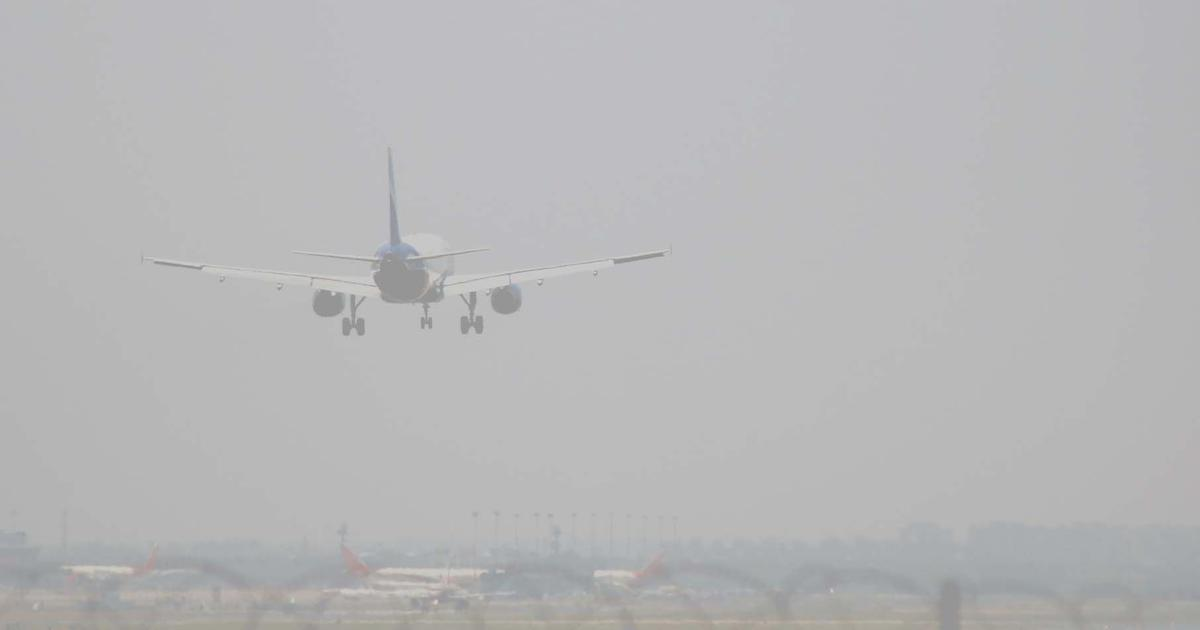 Five flights diverted at Delhi airport due to fog