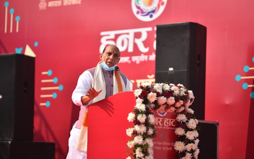 rajnathsinghinaugurates26theditionofhunarhaatinnewdelhi