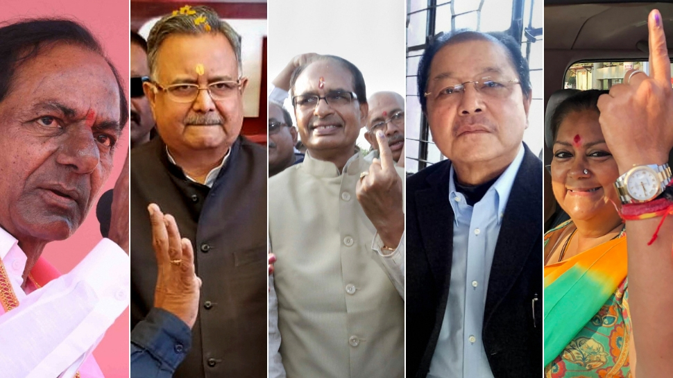 Counting of votes begins for Assembly elections to Telangana, Chhattisgarh, Rajasthan, Madhya Pradesh and Mizoram