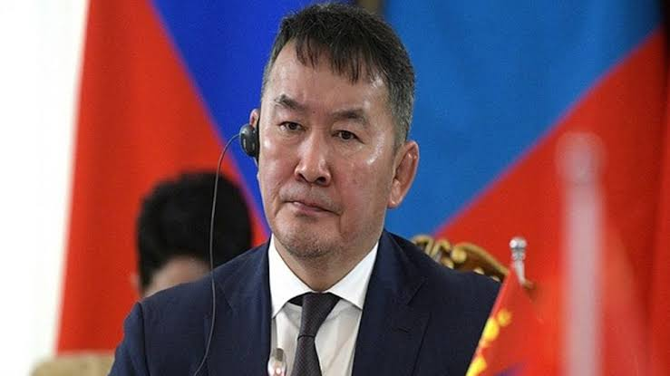 Mongolian President Khaltmaagiin Battulga arriving in India on five day visit