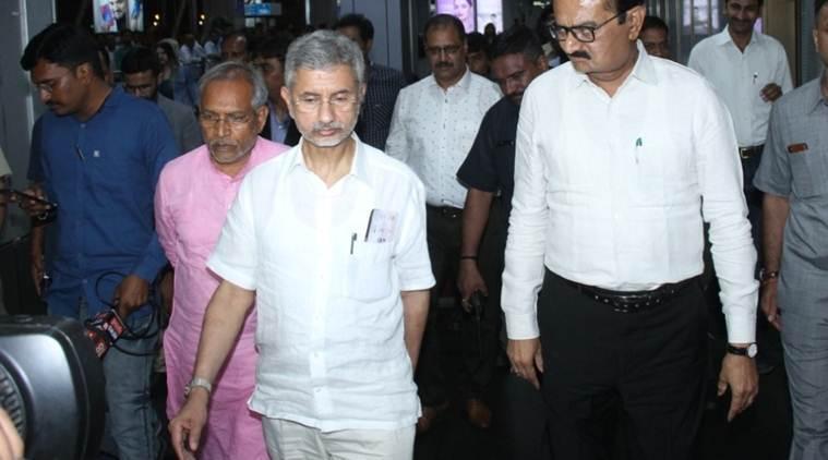 Jaishankar files nomination papers for Rajya Sabha poll