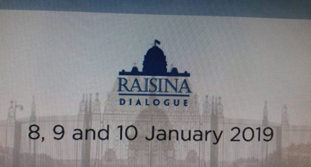 4th Edition of Raisina Dialogue to begin in New Delhi today