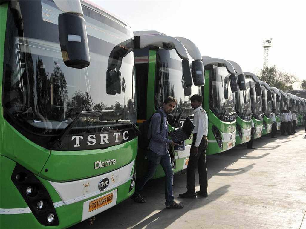 TSRTC state-run buses exempted from night curfew: CM KCR