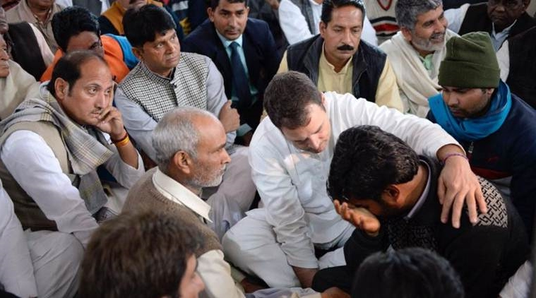 Rahul and Priyanka Gandhi visit families of CRPF jawans killed in Pulwama