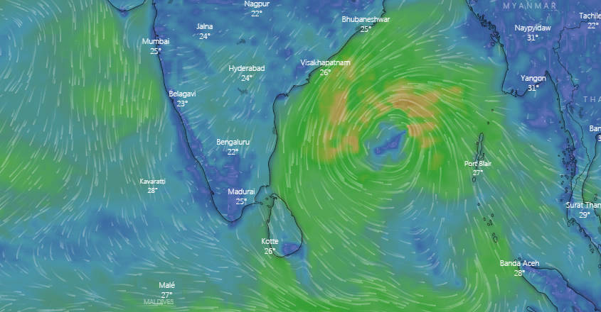 Cyclone Gaja to make landfall around Nagapattinam in Tamil lNadu