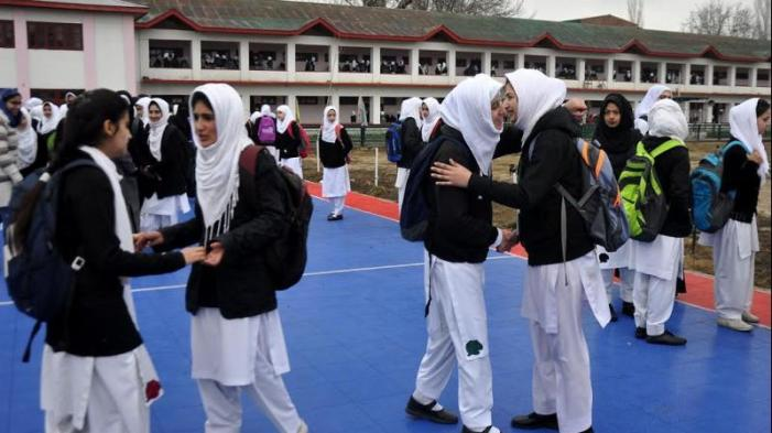 Several schools reopen in Srinagar, life inching towards normalcy in Kashmir