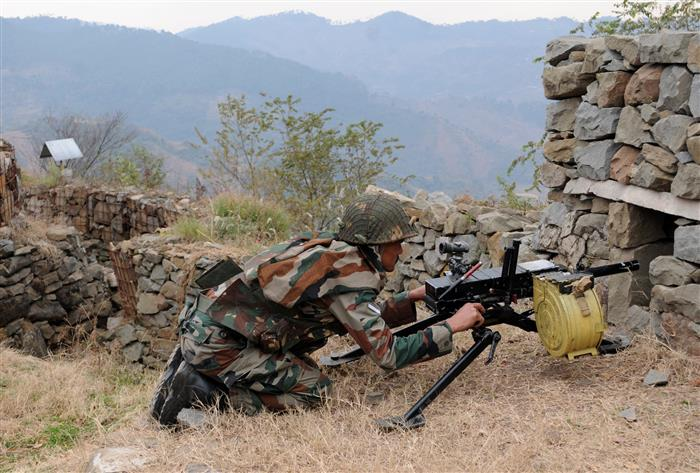 Pakistani Rangers open fire on forward posts, villages in Kathua district