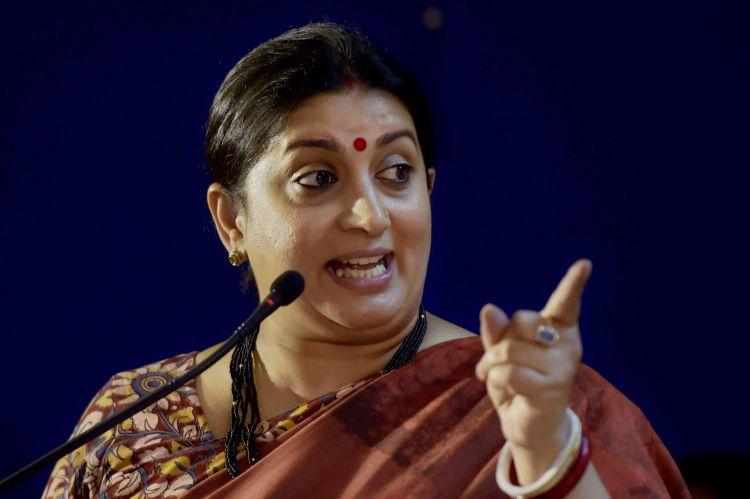 He is a failed dynast: Smriti Irani hits back at Rahul Gandhi after he slams PM Modi in US