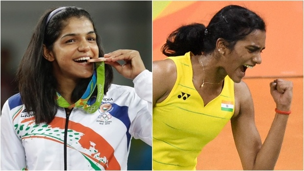 UP govt anounces Rs.one crore each for PV Sindhu, Sakshi