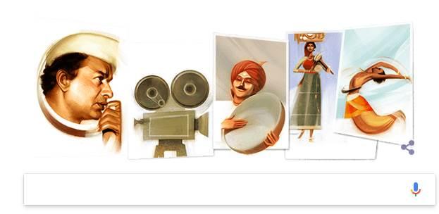 Google celebrates V Shantaram