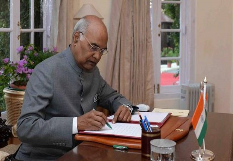 President Ram Nath Kovind give assent to Jammu and Kashmir Official Languages Bill,2020