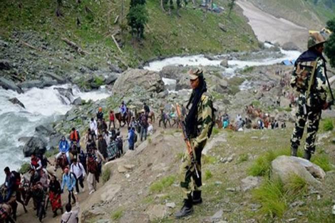 17th batch of Amarnath pilgrims leave Jammu