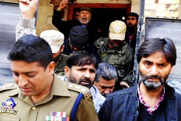 Attempted murder of policemen case Yasin Malik