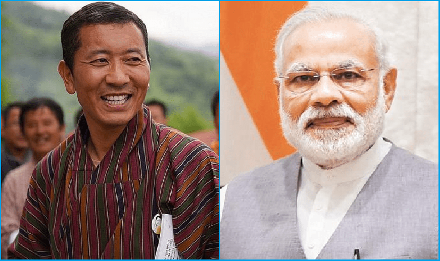 PM Modi to hold talks with his Bhutanese counterpart Lotay Tshering today