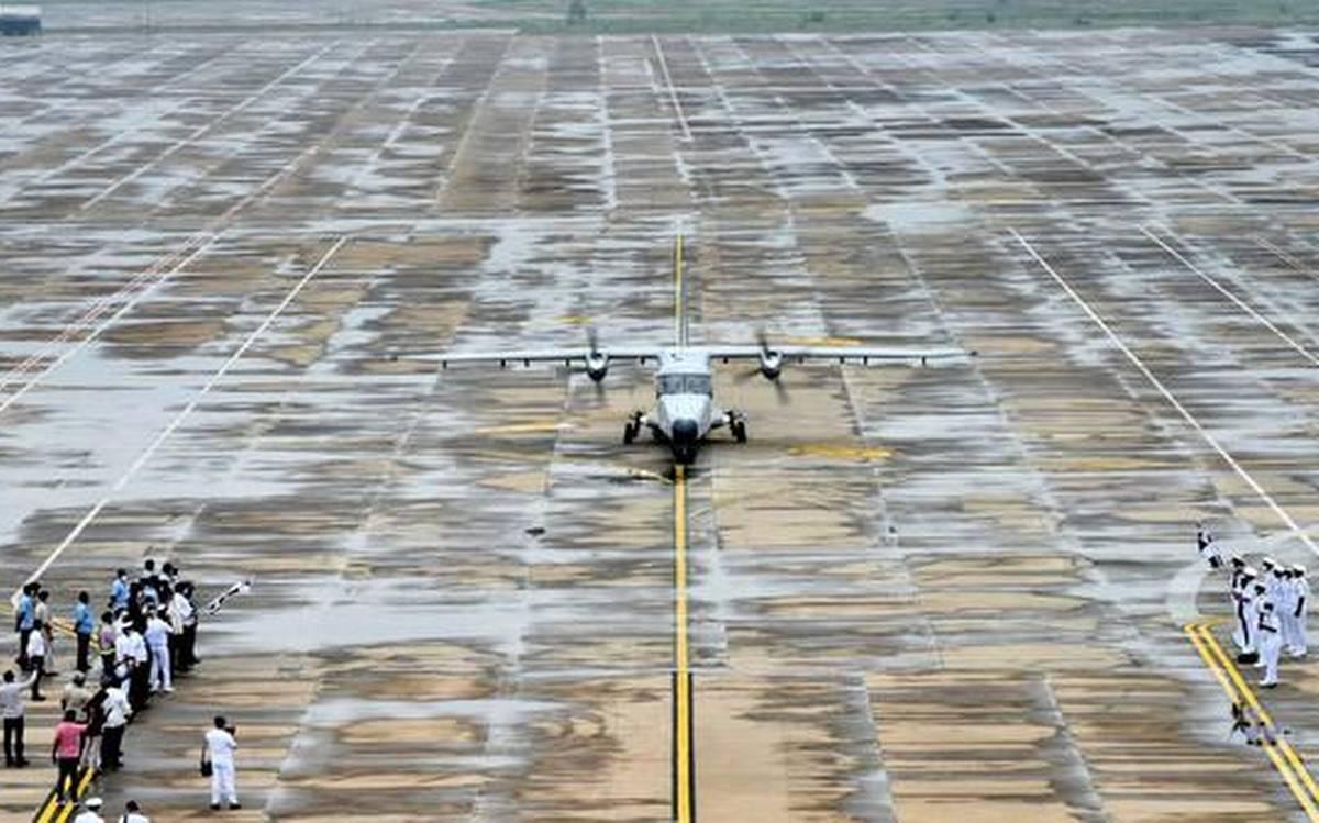 newtaxitrackcommissionedatvisakhapatnamairport