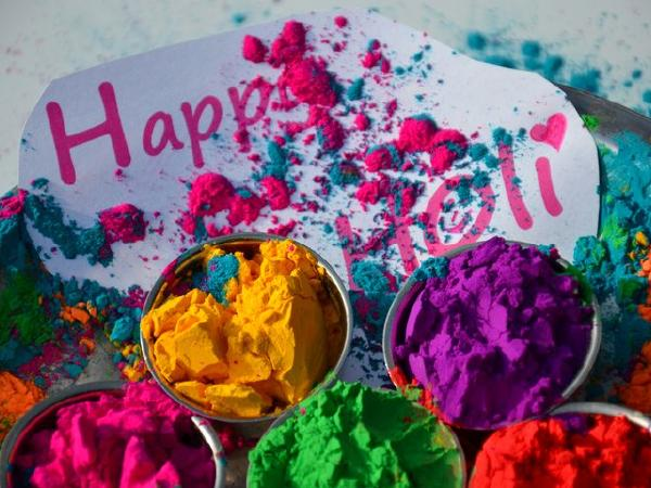 Holi being celebrated across the country