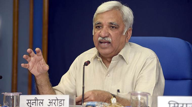 Sunil Arora appointed CEC