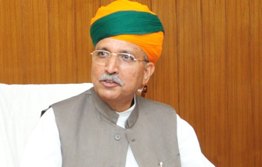 Union Minister Arjun Meghwal found COVID-19 positive, admitted to AIIMS