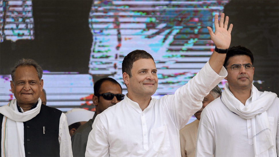 Ashok Gehlot to be Rajasthan CM, Sachin Pilot as Deputy CM