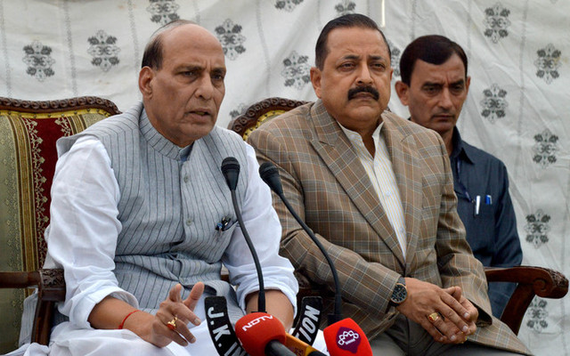 All Party Delegation to chalk out future course of action in Delhi: Rajnath Singh