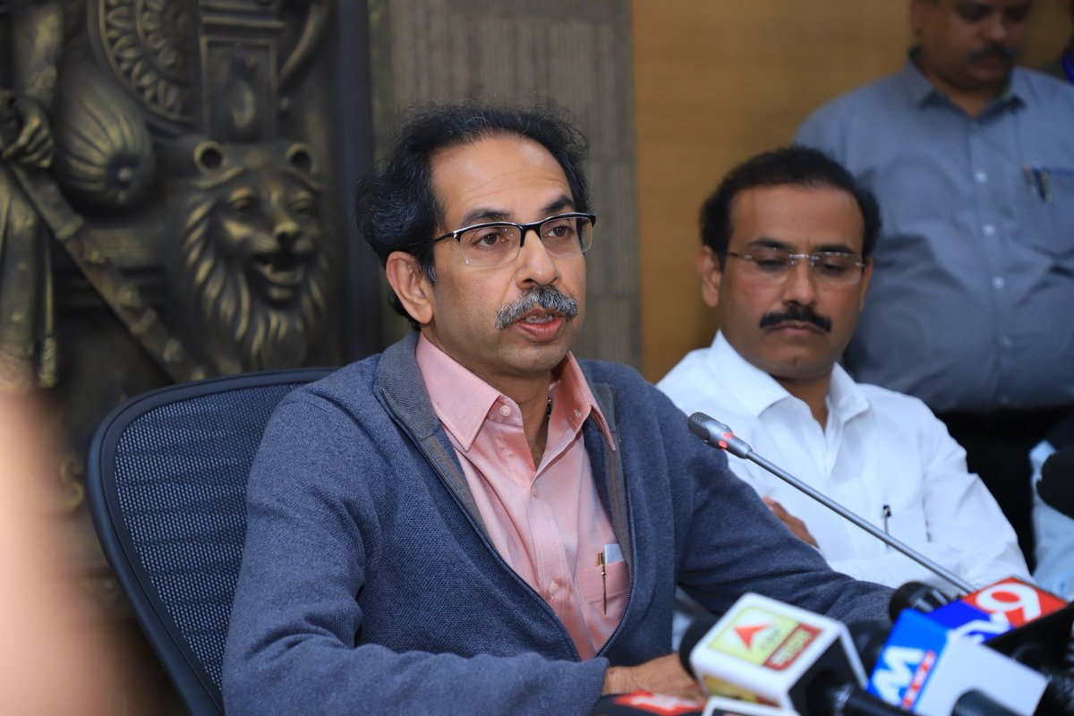 workplacesinmumbaipuneclosedtillmarch31:uddhavthackeray