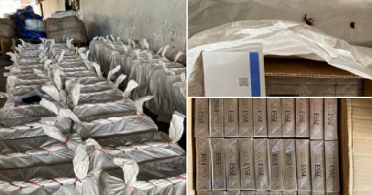 Cigarettes worth Rs 1.50 crore seized by Delhi Customs from COVID-19 special train