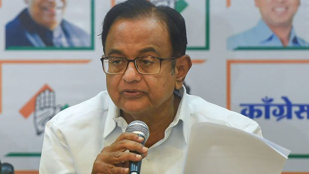 Language used by BJP leaders appalling: Chidambaram