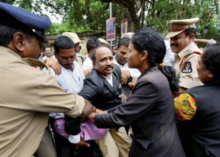 200 Judges go on Mass leave in Telangana
