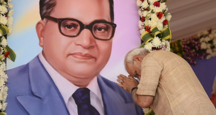 PM Modi pays rich tributes to Dr.Ambedkar on his 130th Anniversary