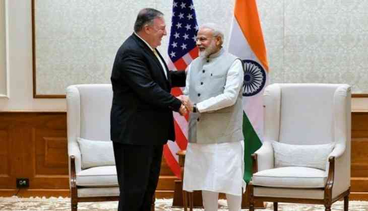 Pompeo meets PM Modi, discusses key strategic issues