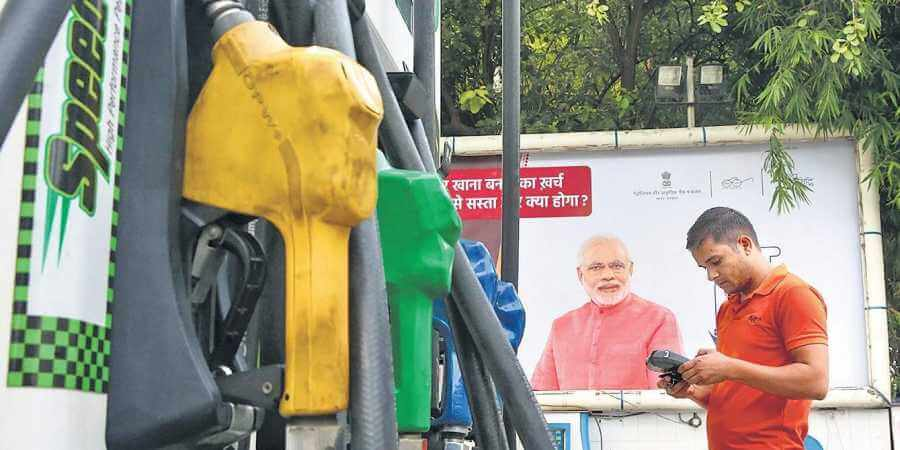 Ahead of Polls, ECI directs petrol pumps to remove hoardings carrying PM Modi