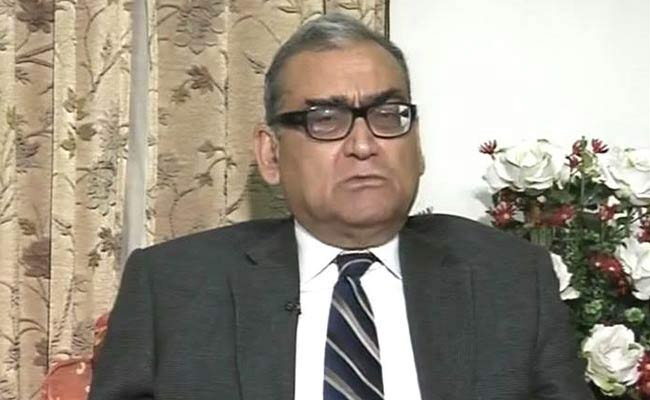 Supreme Court reserves order on Justice Katju