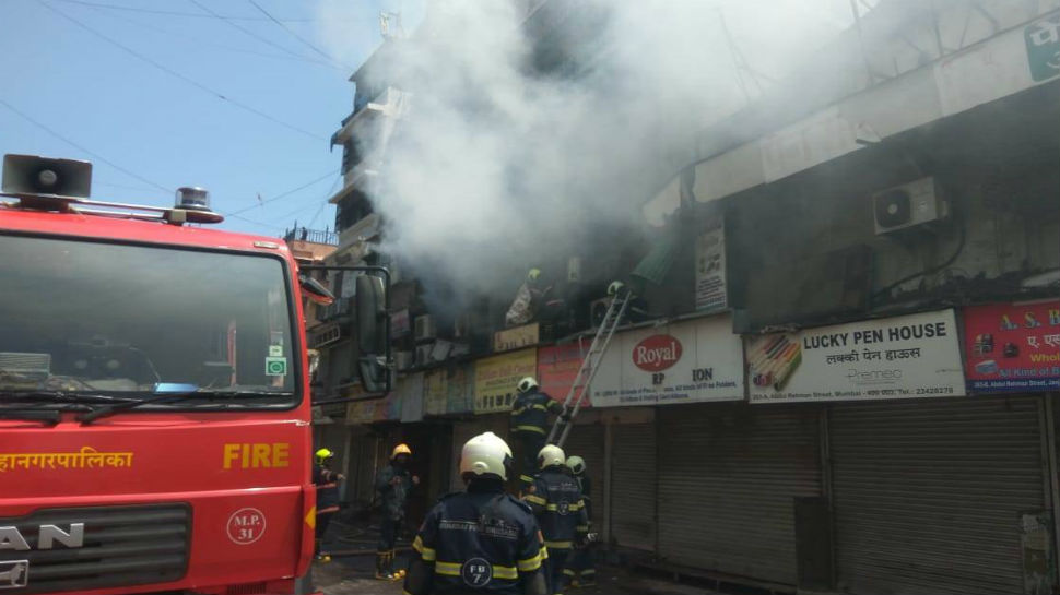 16 shops gutted in fire in Maharashtra; none hurt