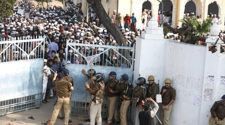 Citizenship Act protests: Students of Lucknow seminary indulge in stone-pelting