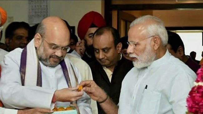 PM Modi greets HM Shah on his 55th birthday