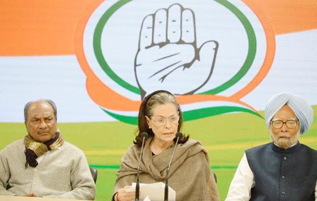 Sonia Gandhi demands Amit Shah