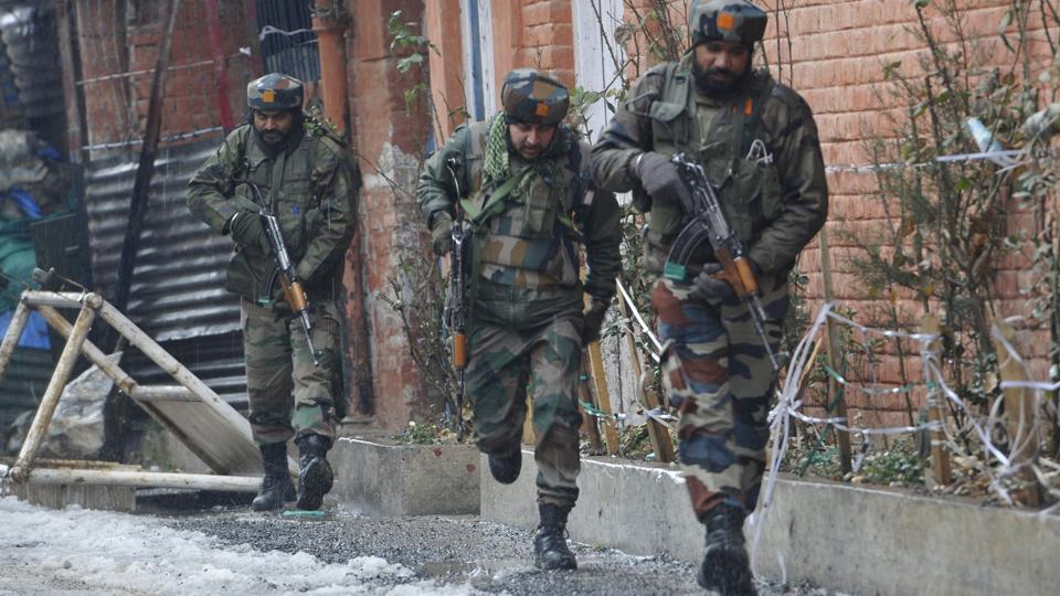 Two terrorists killed in encounter in Srinagar