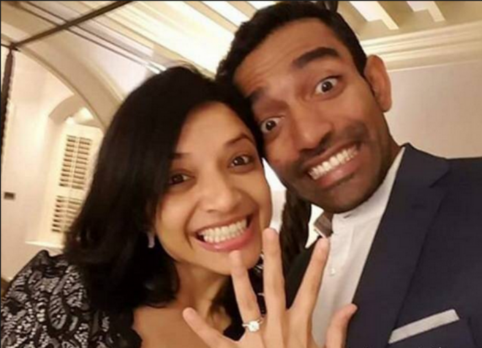 Cricketer Robin Uthappa ties the knot