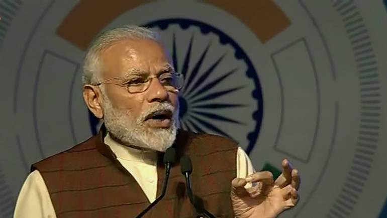 PM Modi hails judiciary for striking balance between development & environment protection