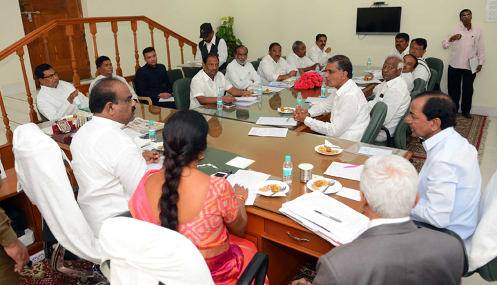 Telangana Budget meet  will  run for 14 days