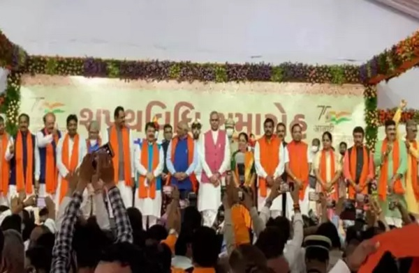 Bhupendra Patel Cabinet: 24 Ministers Take Oath As Part Of New Gujarat Govt
