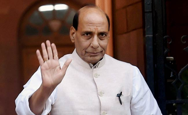 Rajnath Singh sends Republic Day wishes to troops through SMS
