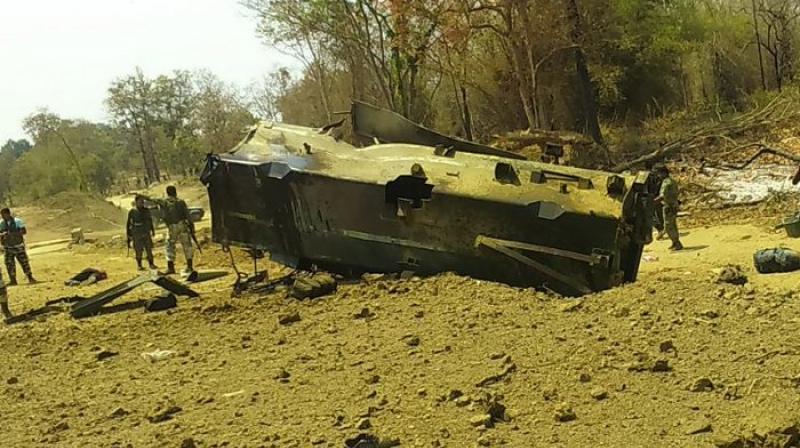 Sukma maoist attack : 9 CRPF jawan killed after Maoists blow up vehicle in Sukma